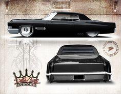 Cadillac DeVille Lowrider by Combi-Christ.deviantart.com on @deviantART