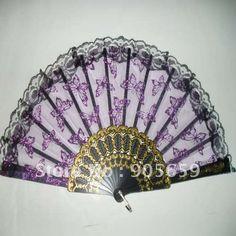 Lace fan Antique Fans, Vintage Fans, Whatsoever Things Are Lovely, Hand Fans For Wedding, Lace Parasol, Fan Decoration, Hand Held Fan, Modern Fan, All Things Purple