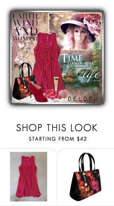 """DELOOM"" by tanja133 ❤ liked on Polyvore featuring Ted Baker, Alexandre Birman and Wilton"
