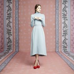 Ulyana Sergeenko dress from Capsule collection Spring - Summer 2014/2015