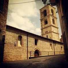 La Chiesa di Santa Maria del Borgo #terredelpiceno #marchetourism #destinazionemarche #piceno #picenopass #marche
