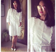 Sonakshi Sinha # white summers # tunic look # Indian fashion #