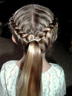Cute And Easy Hairstyles For Little Girls Regarding Aspiration ...