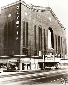 Vintage photo of Olympia Stadium...Detroit Red Wings, played here