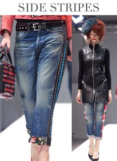 Trend Council is a fashion trend forecasting company who delivers expert analysis and design inspirations . 2014 Fashion Trends, 2014 Trends, New Jeans Style, Trend Council, Mode Jeans, Denim Trends, Winter Trends, Mode Style, Denim Fashion