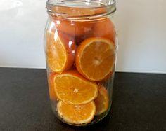 Fruit Recipes, Grapefruit, Mason Jars, Food And Drink, Orange, Baking, Drinks, Christmas, Blog