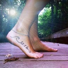 foot tattoo | Tumblr