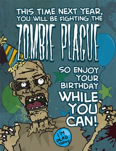 Zombie Cards On Pinterest