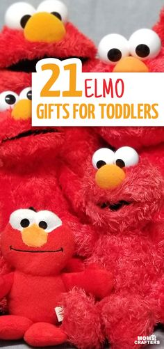 Looking for a perfect gift for a toddler who loves Elmo? These Elmo gifts for toddlers feature gift ideas in all different categories: toys, DIY, books. Toddler Gifts, Toddler Toys, Toddler Activities, Baby Toys, Gifts For Kids, Baby Baby, Birthday Gift Bags, Elmo Birthday, Best Birthday Gifts