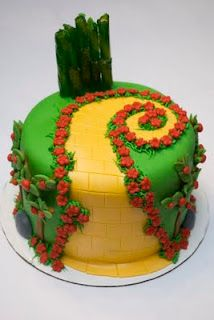 Perfect Wizard of Oz cake!