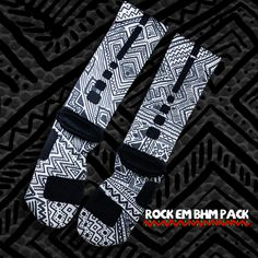 julietard's save of Black History Month Nike Elite Socks - Grey | Rock 'Em Apparel on Wanelo