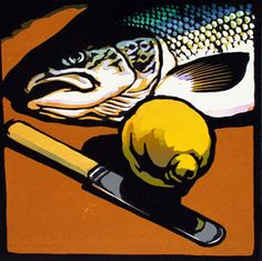 Chris Wormell woodcut