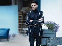 Olivier Janiak in Ossolinski jacket / PANI / foto. Magda Wunshe