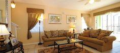 Living room - Florida Vacation Rental.