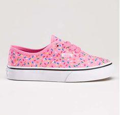 These Rainbow Sprinkles Vans Kicks Make Footwear Fun #shoes #footwear trendhunter.com