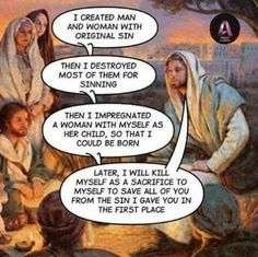 Pauline christianity Theology disaster at its best Religion Humor, Atheist Humor, Atheist Quotes, Wisdom Quotes, Sigmund Freud, Losing My Religion, Athiest, Cultura General, Les Religions
