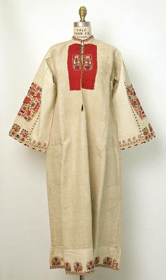 А female chemise from Samokov district, Region of Shopluk