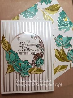 I always used to admire other people's Shaker cards but never really bothered attempting one of my own. That was until Stampin' Up! released their Adhesive Foam Strips. Then there was n…