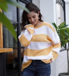 Shop The Latest Women Styles Autumn Fashion Work, Women's Summer Fashion, Fashion 2020, Fashion Trends, 40 Year Old Womens Fashion, Plus Size Fashion For Women, Loose Knit Sweaters, Boho Sweaters, Dressy Casual Outfits