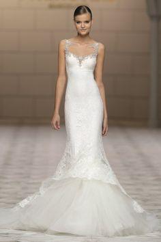 vestido de noiva Canace estilo sereia de Atelier Pronovias 2015 #casarcomgosto