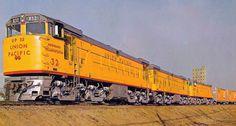 GE U50 Diesel Locomotive.