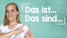 "Learn how to form very simple sentences in German using the phrase ""This is. In this lesson, you will also be learning some important . Simple Sentences, Learn German, Comprehension, Grammar, Vocabulary, Social Media, Exercise, Education, Learning"