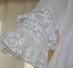 """Heirloom Tea Dress"" - Exquisite in White!"