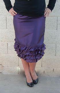 Therapeutic Crafting: Flirty Skirt