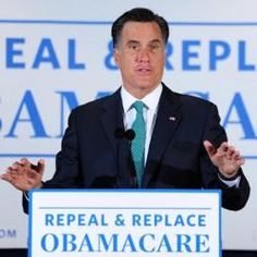 """Romney: 'We Don't Have People Who Die Because They Don't Have Insurance.""""   Actually, Mitt, 45,000 people die in America each year, one every 12 minutes, because they lack health insurance.    But keep promising to repeal Obamacare, which makes it possible for 32 million more people to have health care which would cut that number of deaths down significantly."""