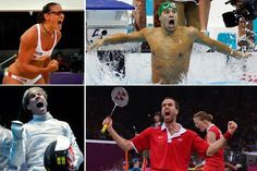 2012 Summer Olympics - Victory Faces     Pure emotion.