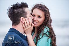 Mirela & Justin's Engagement Session | Hilton Head Island, SC | Atlanta Destination Wedding Photographer by Zac | FengLongPhoto.com