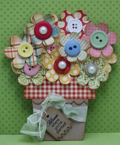 This and That: Flower Pot Card