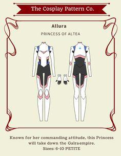 Allura Spacesuit Cosplay from Legendary Defenders Sewing