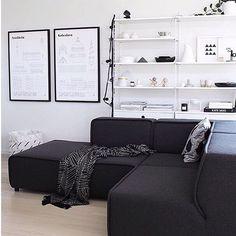 WEBSTA @ blackwhite.interior - Livingroom ▪️▫️ Credit: @thedesignchaser #details…