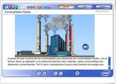 COMBUSTIBLES FÓSILES (Actividad interactiva de Ciencias Naturales de Primaria) Science Area, Interactive Activities, Teaching Resources