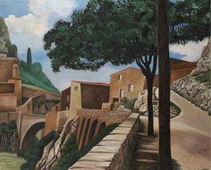 Auguste Herbin (1882-1960)  Pont de Sisteron, 1924