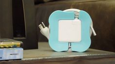 PowerCurl - very cool way to store a MacBook Air cord (a very cumbersome cord)