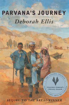 2005 Nominee - Parvana's Journey (The Breadwinner, #2), by Deborah Ellis