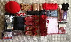 Gail's Packing Tips for Performance Events