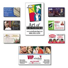 Business Card Magnets are one product that keeps selling long after others have been tossed away and forgotten. - Arizona Cap Company - (480) 661-0540 Custom Printed & Embroidered. Visit our website for the colors available and the price.