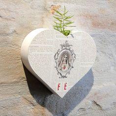 Vaso Bloco Coração