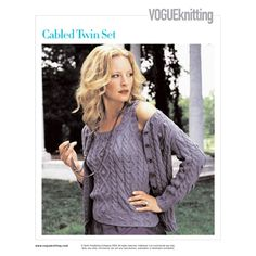 VK 2006 - Poli tricot - Álbuns da web do Picasa Vogue Knitting, Knitwear, Twins, Lace, Sweaters, Jackets, Dresses, Albums, Holiday