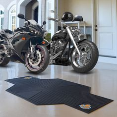 Fanmats New York Knicks Rubber Motorcycle Mat (82.5 inches long x 42 inches wide)