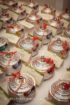Indian inspired wedding favors