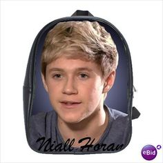 One Direction's Niall Horan Backpack Schoolbag