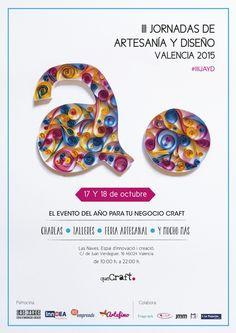 III Jornadas de Artesanía y Diseño Valencia 2015. quéCraft