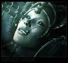 Metalic Stare- link CD cover- by ValentinaKallias.deviantart.com on @deviantART
