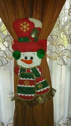 Cortinero Merry Christmas To You, Christmas Mom, Christmas Sewing, Christmas Projects, Felt Christmas Decorations, Christmas Stockings, Christmas Ornaments, Holiday Decor, Snowman Crafts