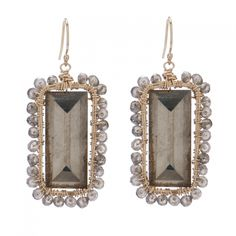Fall 2012 | Rose Earring, gold/pyrite