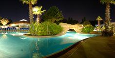 La piscine de nuite
